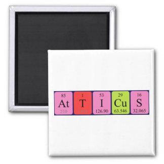 Atticus periodic table name magnet