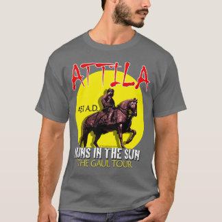 """Attila """"Huns in the Sun"""" Tour (Men's Dark) T-Shirt"""
