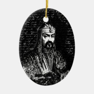 Attila the Hun Ceramic Ornament