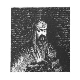 Attila the Hun Notepad