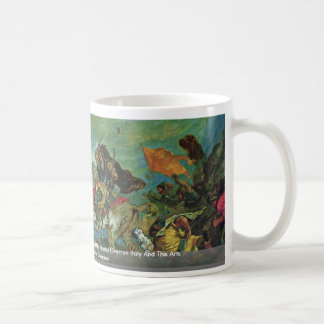 Attila Überreitet Italy And The Arts Details Coffee Mug