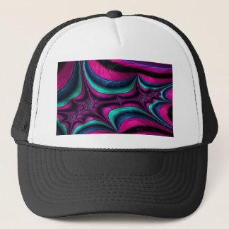 attired arsenal fractal trucker hat