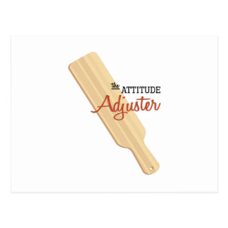 Attitude Adjuster Post Card