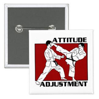 Attitude Adjustment 15 Cm Square Badge