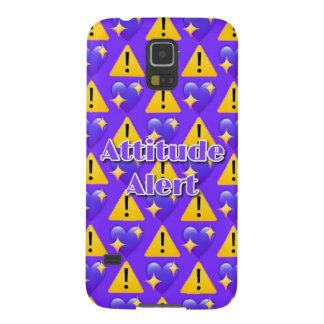 Attitude Alert (Purple) Samsung Galaxy S5 Case