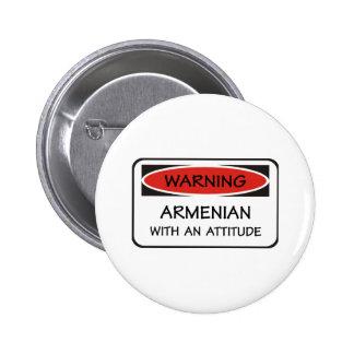 Attitude Armenian 6 Cm Round Badge