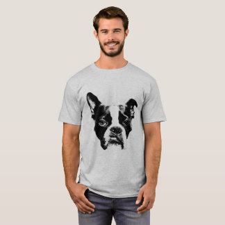 Attitude Boston Terrier Style T-Shirt