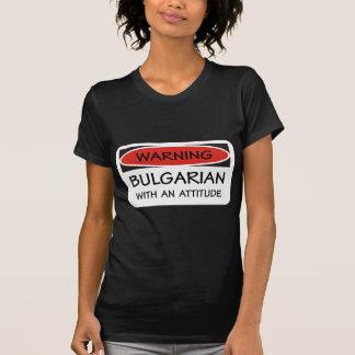 Attitude Bulgarian Tshirt