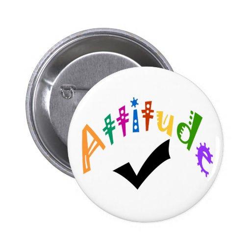 Attitude check button