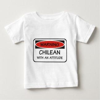 Attitude Chilean Baby T-Shirt
