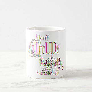 Attitude - Classic White Mug