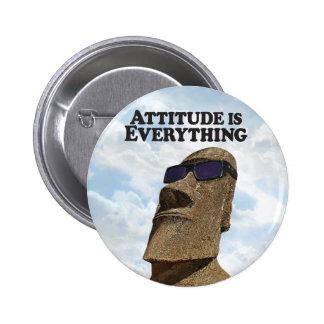 Attitude Everything Hip Moi - Round Button