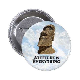 Attitude Everything with Moi - Round Button 2