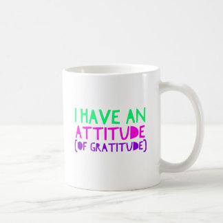 Attitude Gratitude Recovery Detox AA Coffee Mug