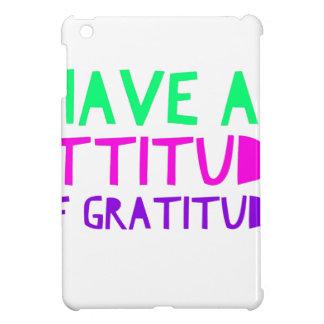 Attitude Gratitude Recovery Detox AA iPad Mini Cases