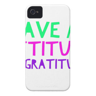 Attitude Gratitude Recovery Detox AA iPhone 4 Case
