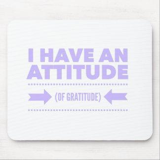 Attitude Gratitude Recovery Detox AA Mouse Pad
