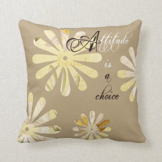 Attitude is a Choice Throw Pillow