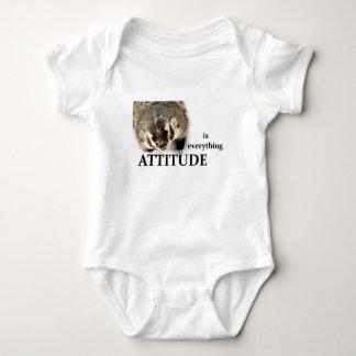 Attitude is everything baby bodysuit