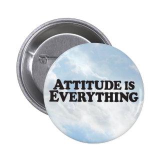 Attitude is Everything -  Round Button