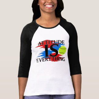 Attitude Is Everything Softball Shirt