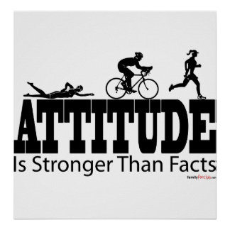 Attitude is Stronger than Facts Print