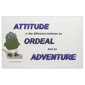 """Attitude is the ..."" Bulletin Board Fabric"