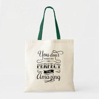 Attitude Life Success Self Confidence Goals Quote Tote Bag