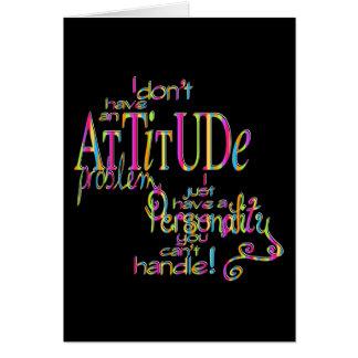 Attitude - Notecard Note Card