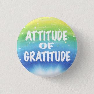 Attitude of Gratitude 3 Cm Round Badge