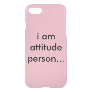 Attitude person iPhone 8/7 case