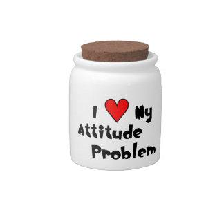 Attitude Problem Candy Jar