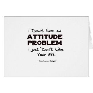 Attitude Problem Card