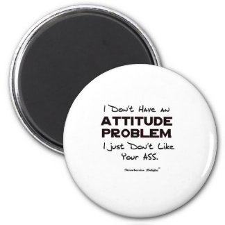 Attitude Problem Refrigerator Magnets