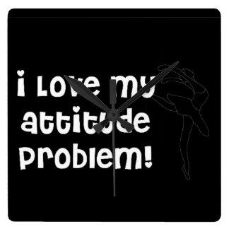 Attitude problum clock