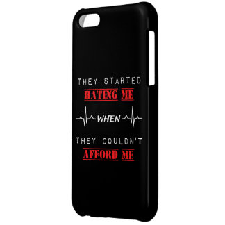 Attitude Quote on iPhone 5C Glossy Finish Case
