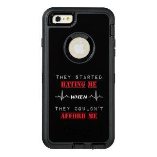 Attitude Quote on OtterBox iPhone 6 Plus Case