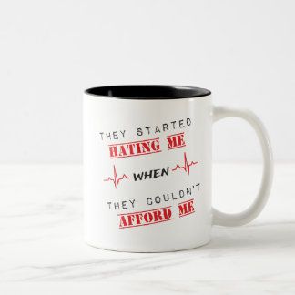 Attitude Quote On Two Tone Mug