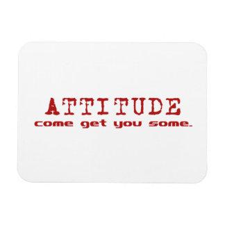 Attitude Red Magnet