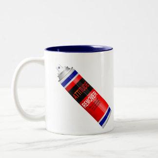 Attitude remover. Two-Tone coffee mug