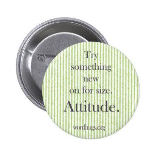 Attitude Round Button