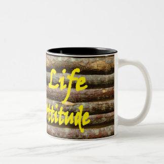 Attitude Two-Tone Coffee Mug