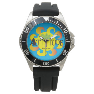 Attitude With Bling Watch