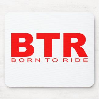 Attitudes - Born To Ride Mouse Mats