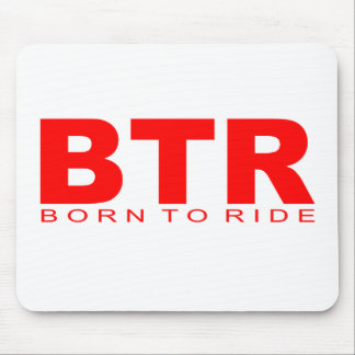 "Attitudes - ""Born To Ride"" Mouse Mats"