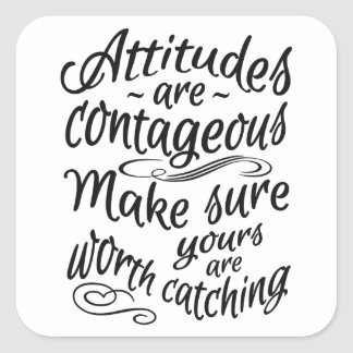 ATTITUDES motivational stickers