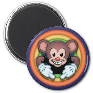 Attitudy Mouse 6 Cm Round Magnet