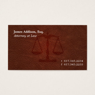 Attorney 102 business card