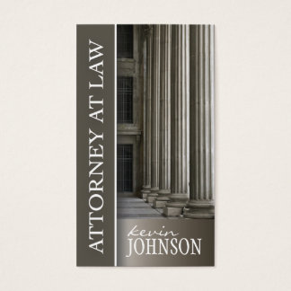 ATTORNEY AT LAW BUSINESS CARD