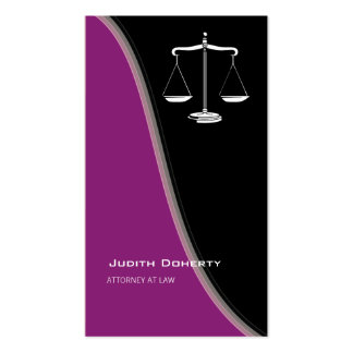 ATTORNEY AT LAW | Classy Pack Of Standard Business Cards
